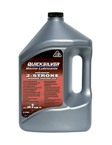 Моторное масло QUICKSILVER TC-W3 Premium 2-Stroke Outboard Oil, 4л