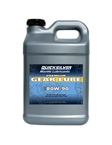 QUICKSILVER Gear Lube Premium SAE 80W-90, 9.46л