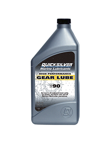 QUICKSILVER Gear Lube Premium SAE 85W-90, 9.46л